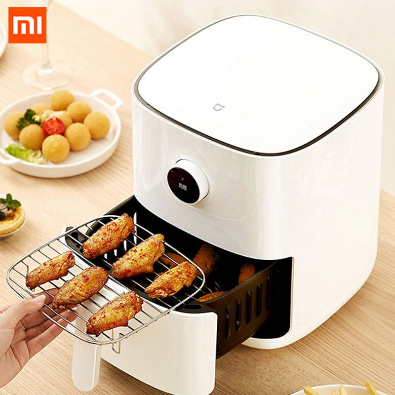 Xiaomi Mijia Smart Air Fryer 3.5 L Oven Accessories Large Capacity OLED Screen 24-Hour Cooking Healthy Fried Smart Appointment