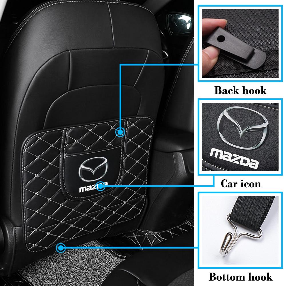 AliExpress - Car Seat Back Protector Pad Anti-kick Pad Mat Clean Mat Pad Anti Dirty For Mazda 2 3 5 6 CX7 Cx-5 CX9 Car Styling Accessories