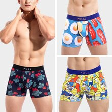 2020Summer men's underwear vogue boxers male pull out  fr men Trunks20th Anniversary New IN strawb