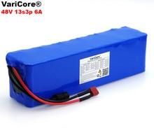 VariCore 48V 6ah 13s3p haute puissance 18650 batterie électrique vélo cyclomoteur électrique moto bricolage batterie 48v BMS Protection + PCB