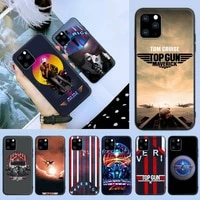 top gun maverick tom cruise phone case for iphone 6 7 8 plus 11 12 promax x xr xs se max back cover