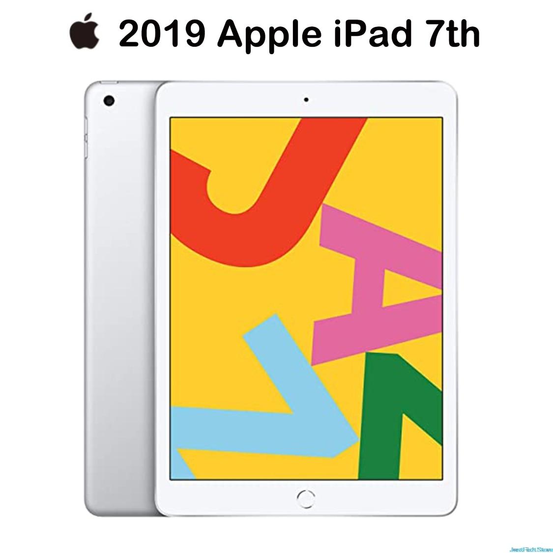 New Apple IPad 2019 IPad 7 (7th Generation)  (10.2-inch, Wi-Fi , 128GB)  Silver (Previous Model) A10 Fusion Chip