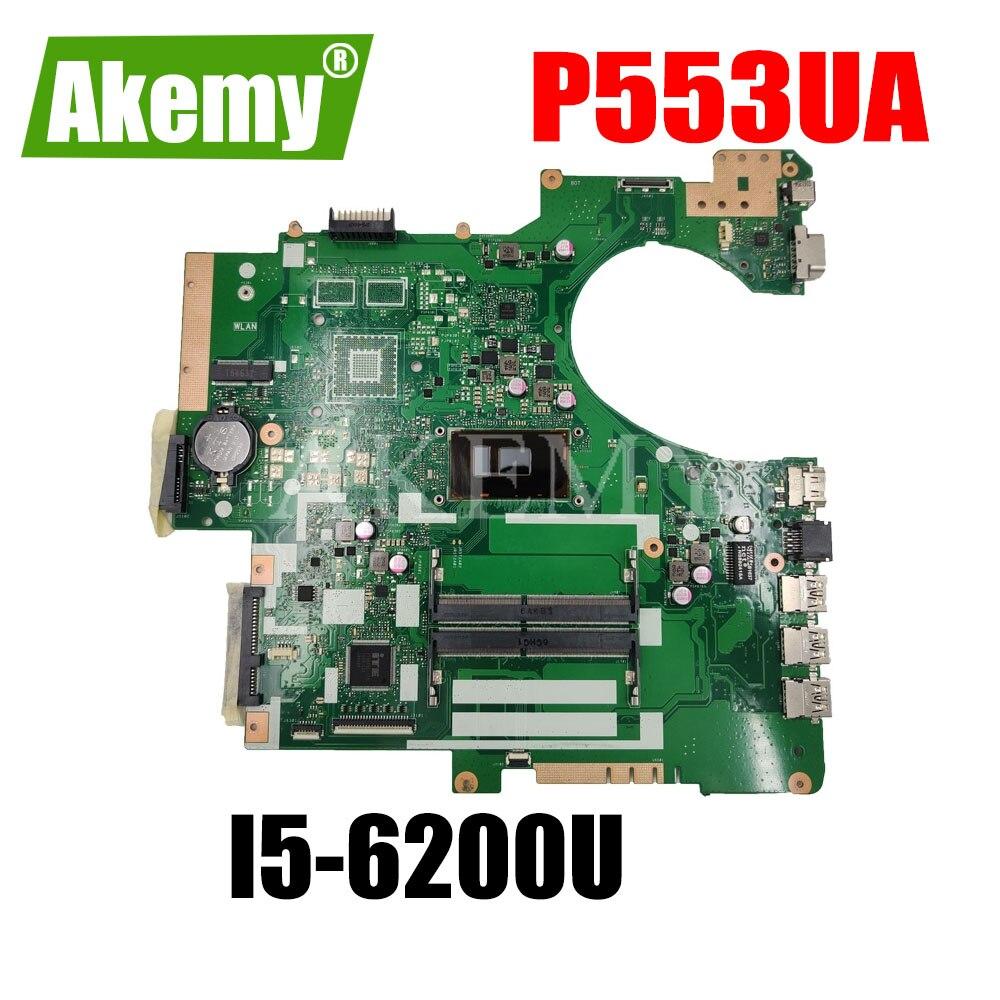 P553UA اللوحة ث/i5-6200U ل Asus P553UJ PRO553U PRO553UJ P553U P2540U P2540UQ P2540UV اللوحة المحمول P553UA اللوحة