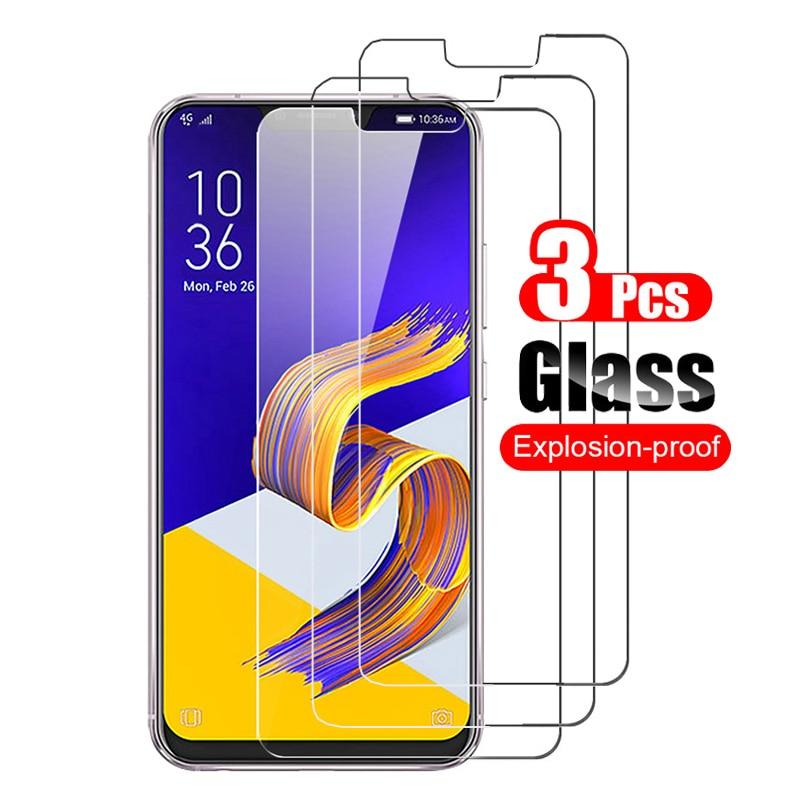 Protector de pantalla de vidrio templado 9H para móvil, película templada prémium...