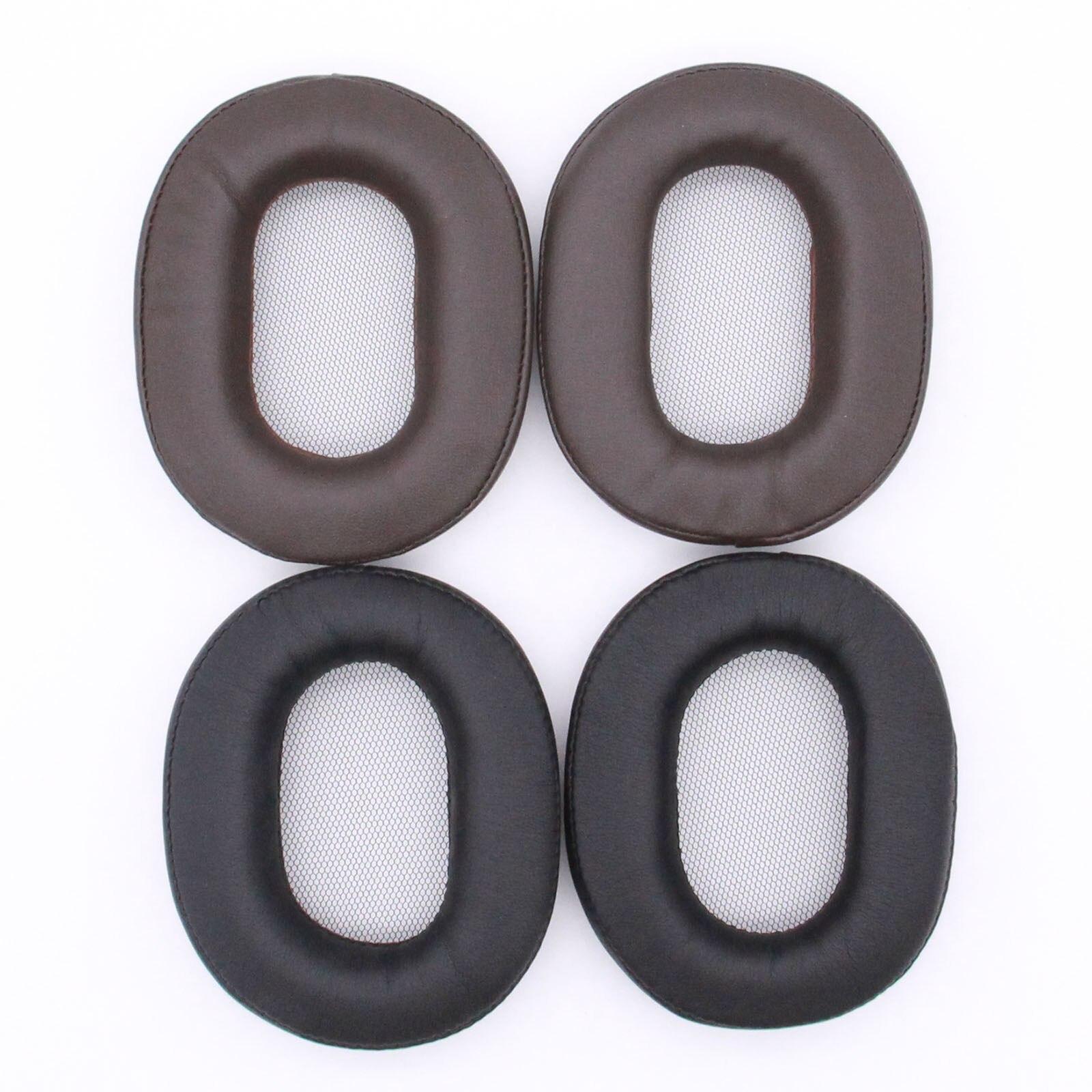 Reemplazo de espuma de memoria almohadillas Sony MDR-1R MK2 1RBT 1ADAC MDR-1A 1ABT auriculares conjunto orejeras algodón esponja auriculares
