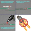 10/50 PCS Solder Seal Wire Connectors - Heat Shrink Solder Butt Connectors - Solder Connector Kit - Automotive Marine Insulated
