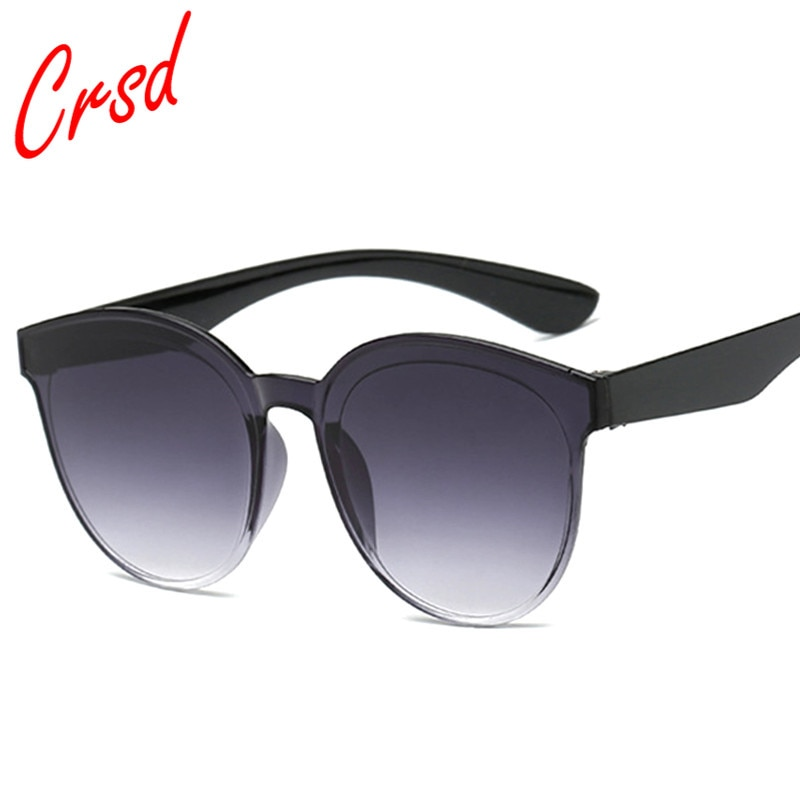 CRSD 2020 Brand Designer Rimless Sunglasses Women Vintage Sun Glasses Simple Girls Goggles Ladies Sh