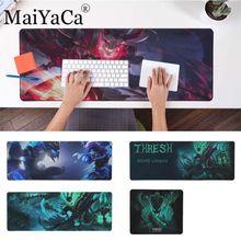 Grande 40*90cm mousepad para cs go lol dota2 maiyaca thresh computador portátil mousepad conforto tapete do rato