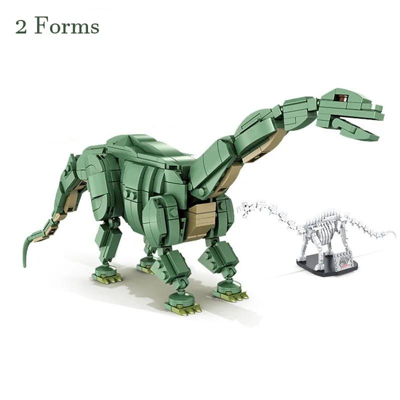 New Fossil Variable Jurassic Park T. rex Rampage Building Blocks Dinosaur Brontosaurus  World  Model Construction Bricks Boys To launcher track t rex rampage hot wheels