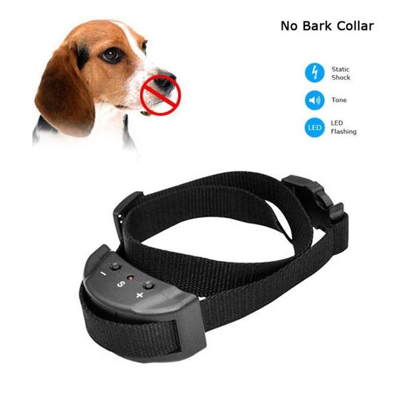 New Pet Dog Anti Bark No Barking Remote Electric Shock Vibration Remote Pet Dog Puppy Training Collar Tool Pet Supplies Hot Sale