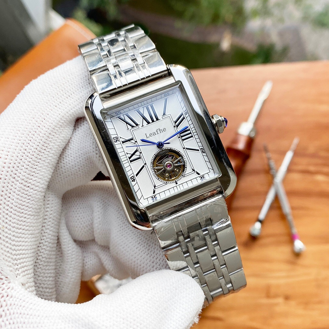 Luxury Mechanical Women Watches Fully Automatic Movement HD Mineral Tempered Glass High-end Atmosphere Relogio montre femme enlarge