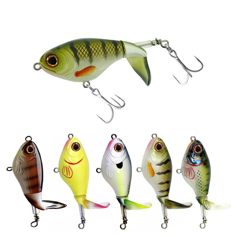 1piece minnow fishing lure 11cm 13g 15g 35g crankbaits fishing lures for fishing floating wobblers pike baits shads tackle Minnow Fishing Lure 75mm 17g Crankbaits Fishing Lures For Fishing Floating Wobblers Pike Baits Shads Tackle Soft Rotating Tail