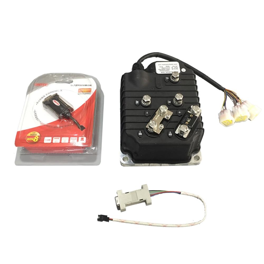 Контроллер Kelly QSKLS4840D 140A 48 В, контроллер электродвигателя велосипеда