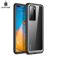 Чехол SUPCASE UB для Huawei P40 Pro (выпуск 2020 года), тонкий противоударный Гибридный защитный бампер премиум класса из ТПУ + Прозрачный чехол из полика...