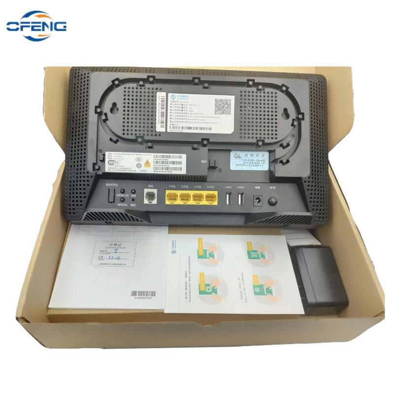 100% جديد 10 قطعة G-140W-C GPON ONU 4GE + 1 الأواني + WIFI 2.4/5G ثنائي الموجات AC اللاسلكية GPON ONT وبنفس وظيفة HS8546V