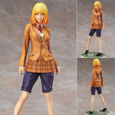 Japanese Anime Prison School Student Union Secretary Midorikawa Hana 1/7 Scale Sexy Girls PVC Action Figure Collection Model Toy