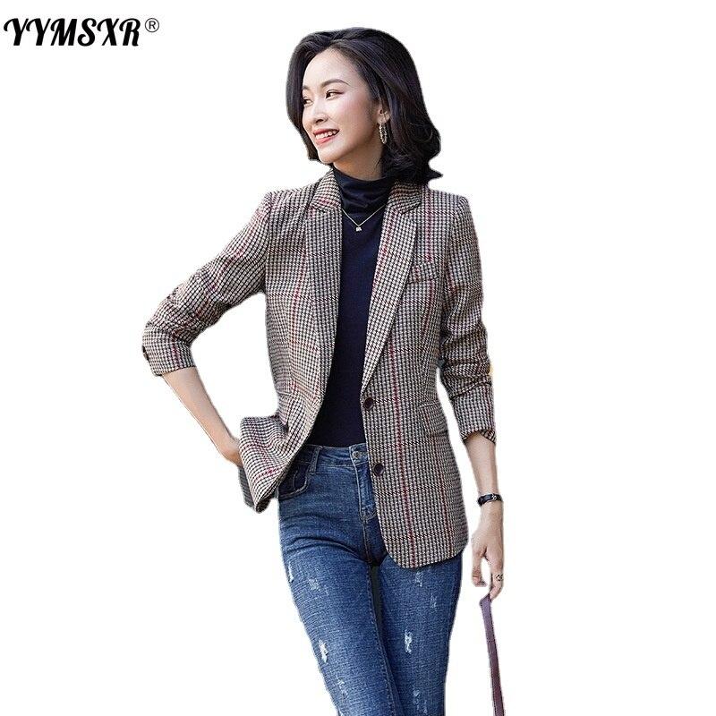 Осенне-зимняя женская одежда, стильная женская куртка с длинным рукавом, профессиональная в западном стиле, распродажа, рабочая одежда высо...