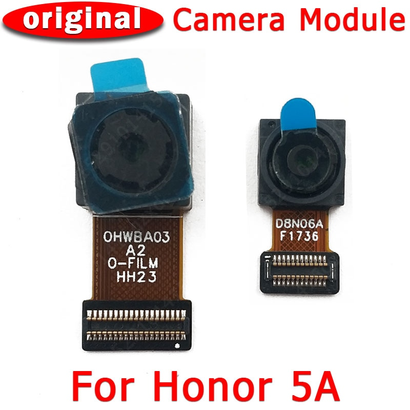 Original Front and Rear Back Camera For Huawei Honor 5A Honor5A Main Facing Frontal Camera Module Fl
