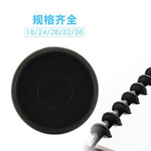 100 sztuk czarne okrągłe pierścienie plastikowe grzyby otwór luźny liść pierścień książka wiążące Disc klamra Hoop DIY notatnik Office Rings
