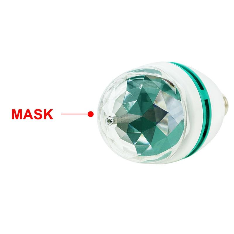 9 Вт 6 Вт E27 RGB светодио дный лампа лампа магия цвет проектор авто поворот сцена свет AC85-265V 220V 110V для праздник вечеринка бар KTV дискотека