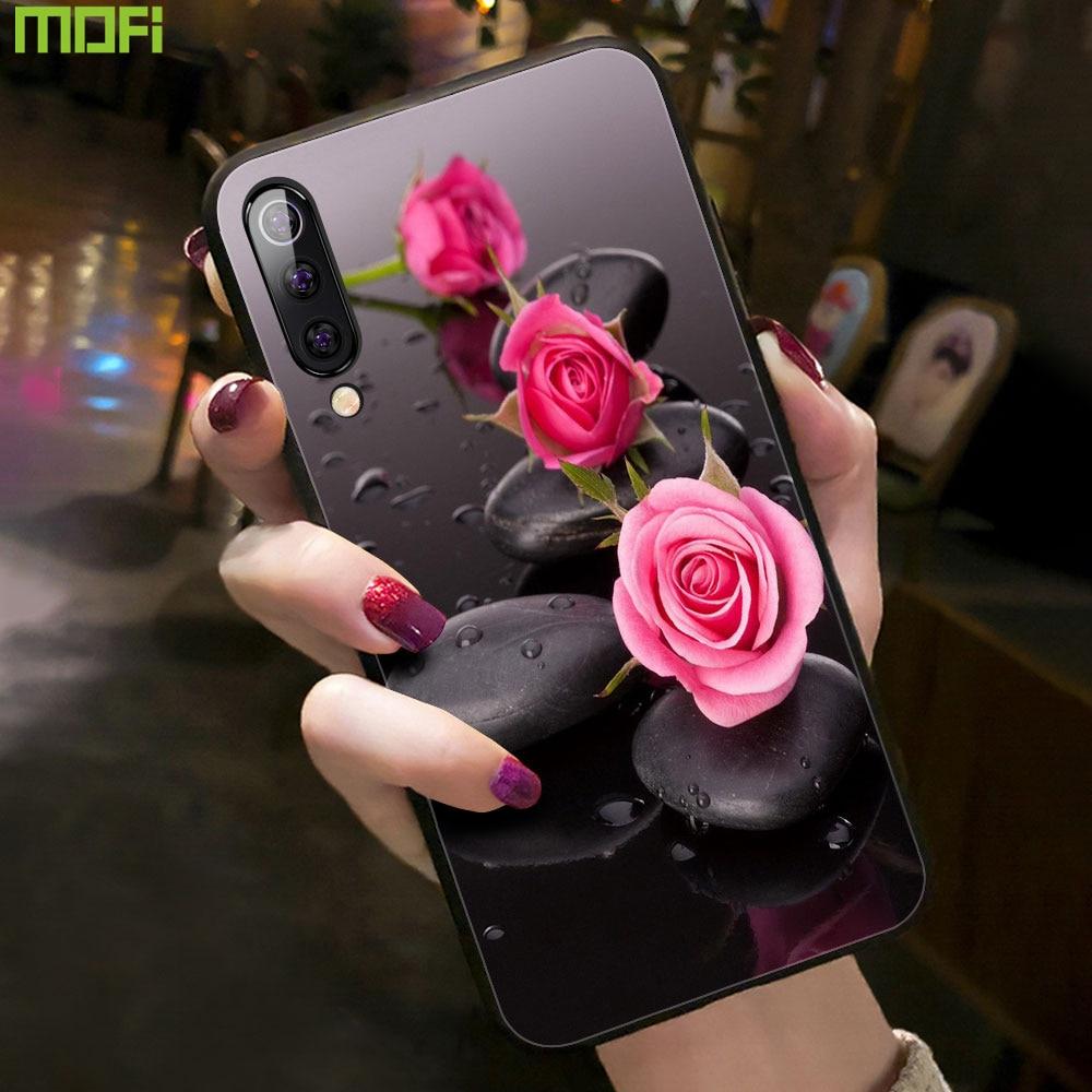 Funda para iPhone 8 Plus contraportada Mofi para iPhone 7 carcasa para iPhone 6S Plus 6P 7P X Xs Max Xr flor Rosa chica mujer personalizada