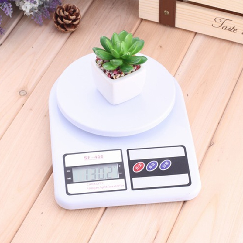 10kg/1g SF-400 Digital LCD Display Kitchen Electronic Scales for Postal Parcel Food Weight Diet Kitchen Measuring Tools