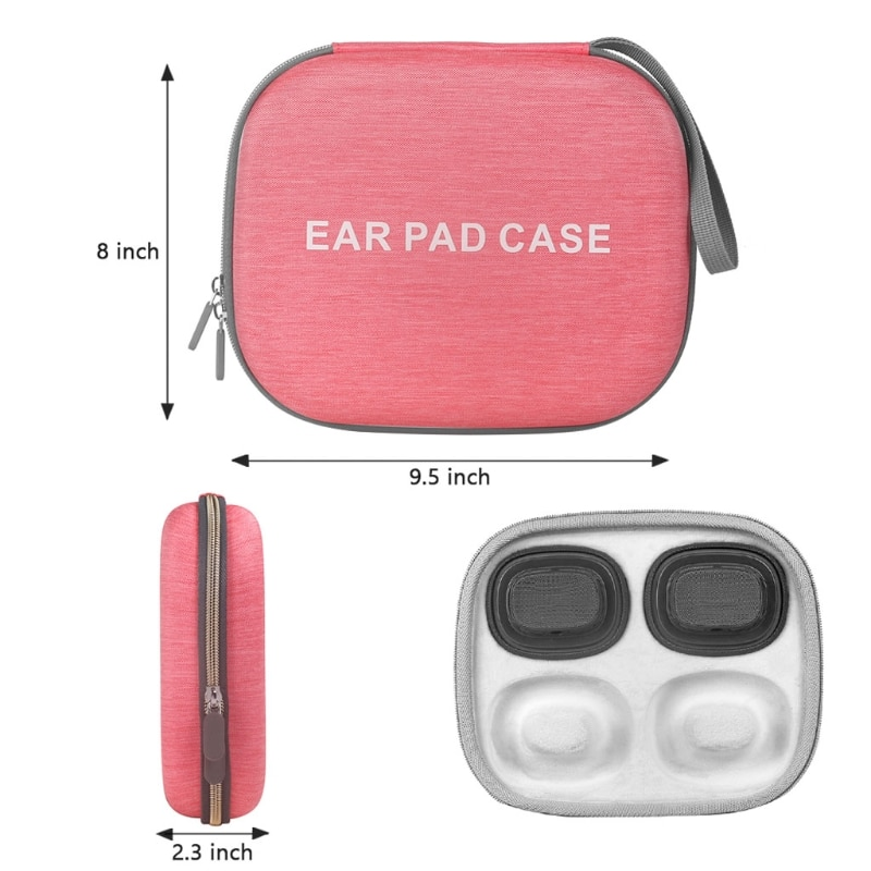 Hard Protective Cover Skin Storage Handbag Carrying Case for airpods Max Ear Pad enlarge