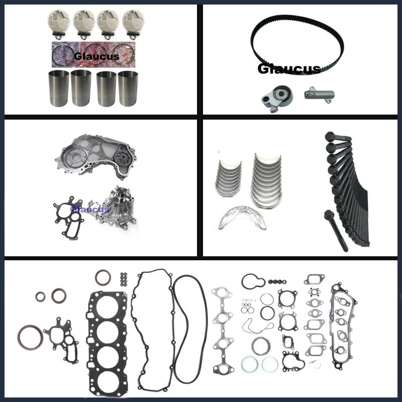 1KZ 1KZT 1KZTE engine Rebuild Kit for Toyota 4 Runner Land cruiser / 90 / Prado Hilux 2982cc 8v 3.0 TD