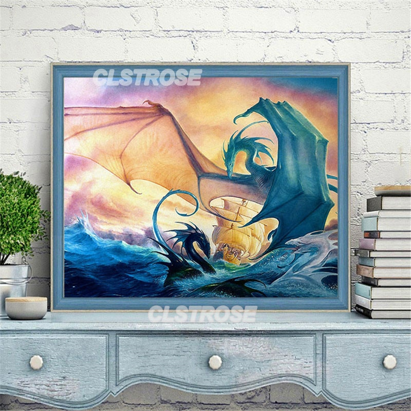 Diy Diamond Painting for a Child Holding a Blue Bear Rusty Diamond Home Decoration Wall Can Be Customized Square Diamond Round  - buy with discount