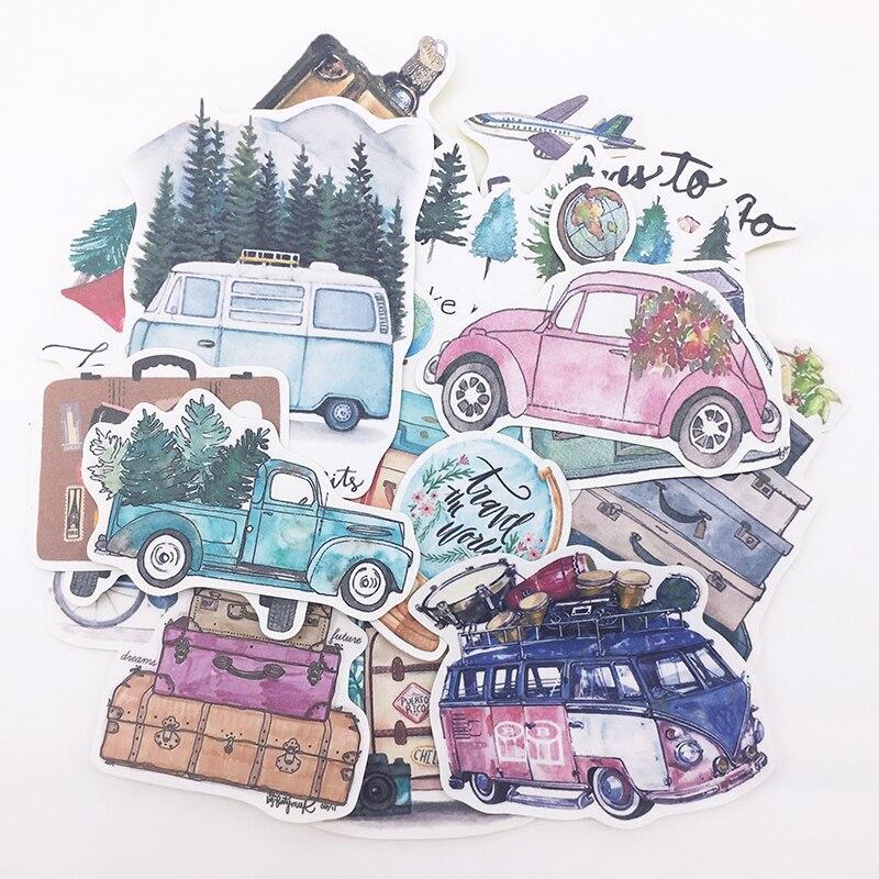 pegatinas-pintadas-a-mano-para-album-de-recortes-pegatinas-de-decoracion-de-etiquetas-planificador-feliz-album-de-vida-lenta-autobus-y-coche-24-uds