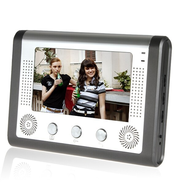 Visual Doorbell 7 Inch Color LCD Night Vision Video Door Phone Bell Door phone Intercom System with Camera And  Monitor Kit enlarge