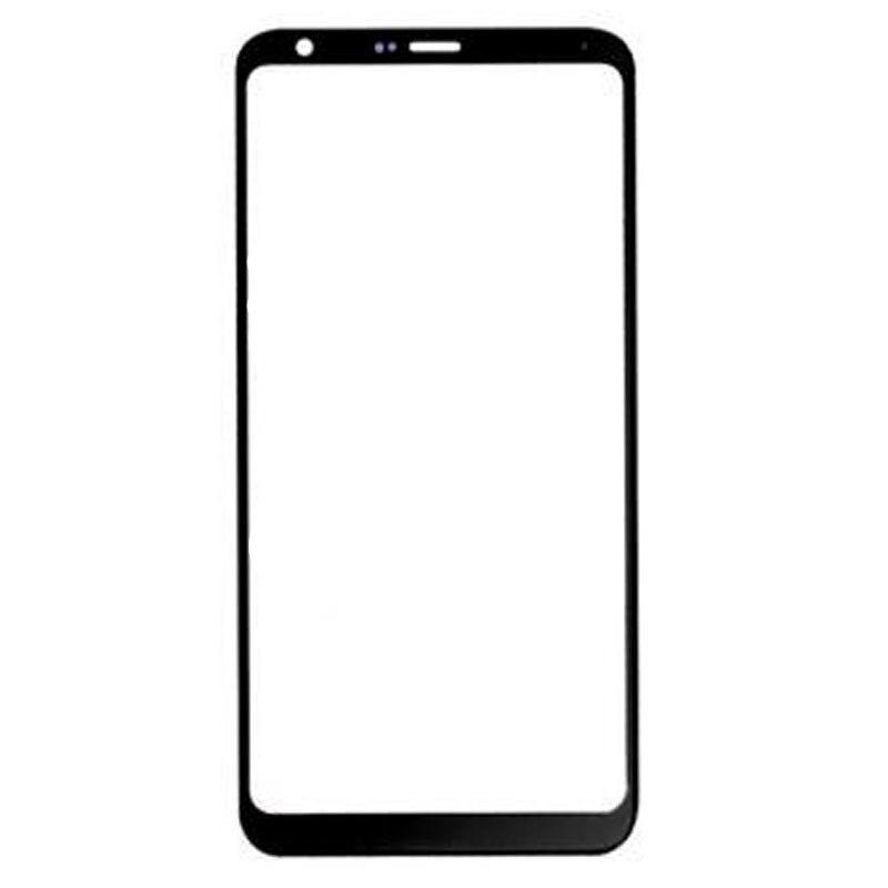 LGQ7 pantalla exterior para LG Q7/Q7 Plus Q610 Panel táctil frontal pantalla LCD cubierta de cristal lente Reparación de teléfono reemplazo parte
