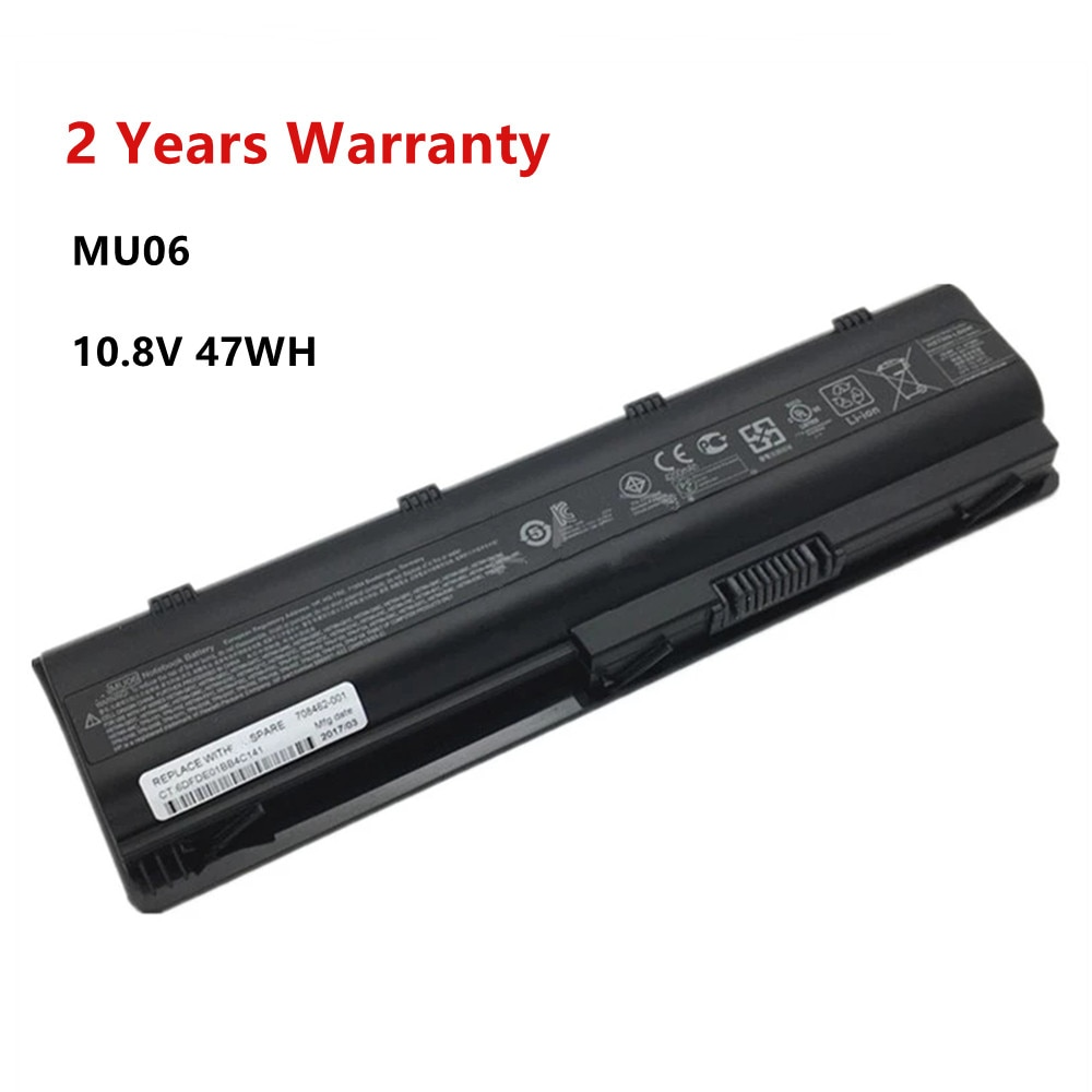 ZNOVAY MU06 Laptop Battery For HP Pavilion G4 G6 G7 CQ42 CQ32 G42 CQ43 CQ62 G32 DV6 DM4 G72 593562-001Battery MU09 10.8V 47WH znovay mu06 laptop battery for hp pavilion g4 g6 g7 cq42 cq32 g42 cq43 cq62 g32 dv6 dm4 g72 593562 001battery mu09 10 8v 47wh