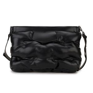 High Quality Down Space Pillow Pu Leather Crossbody Messenger Bag Shoulder Bag Purses and Handbag for Women Clutch Bag Envelope