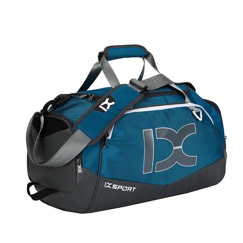Waterproof 40L Dry Wet Gym Bags For Fitness Travel Shoulder Bag Handbag Big Outdoor Sports Shoes Yoga Bag For Women Men Training