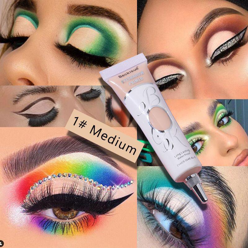 Eyeshadow primer especial primer para olhos base maquiagem à prova dwaterproof água de longa duração olhos cosméticos