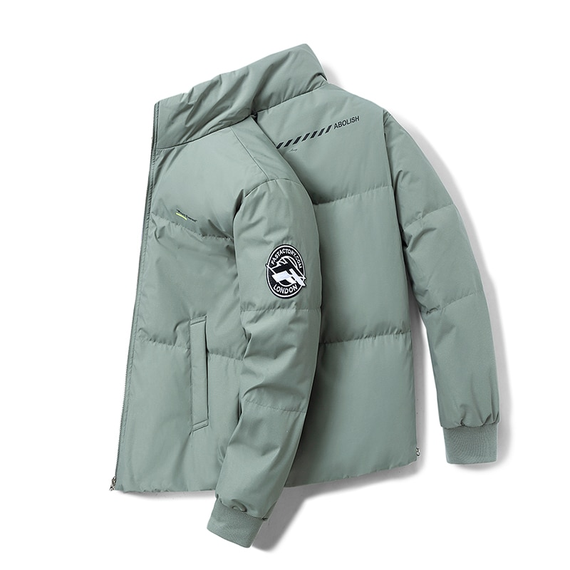 Winter Outerwear Windproof Warm Down Jacket Men Thicken Casual White Duck Down Filling Mens Down Coat Brand Male Parka