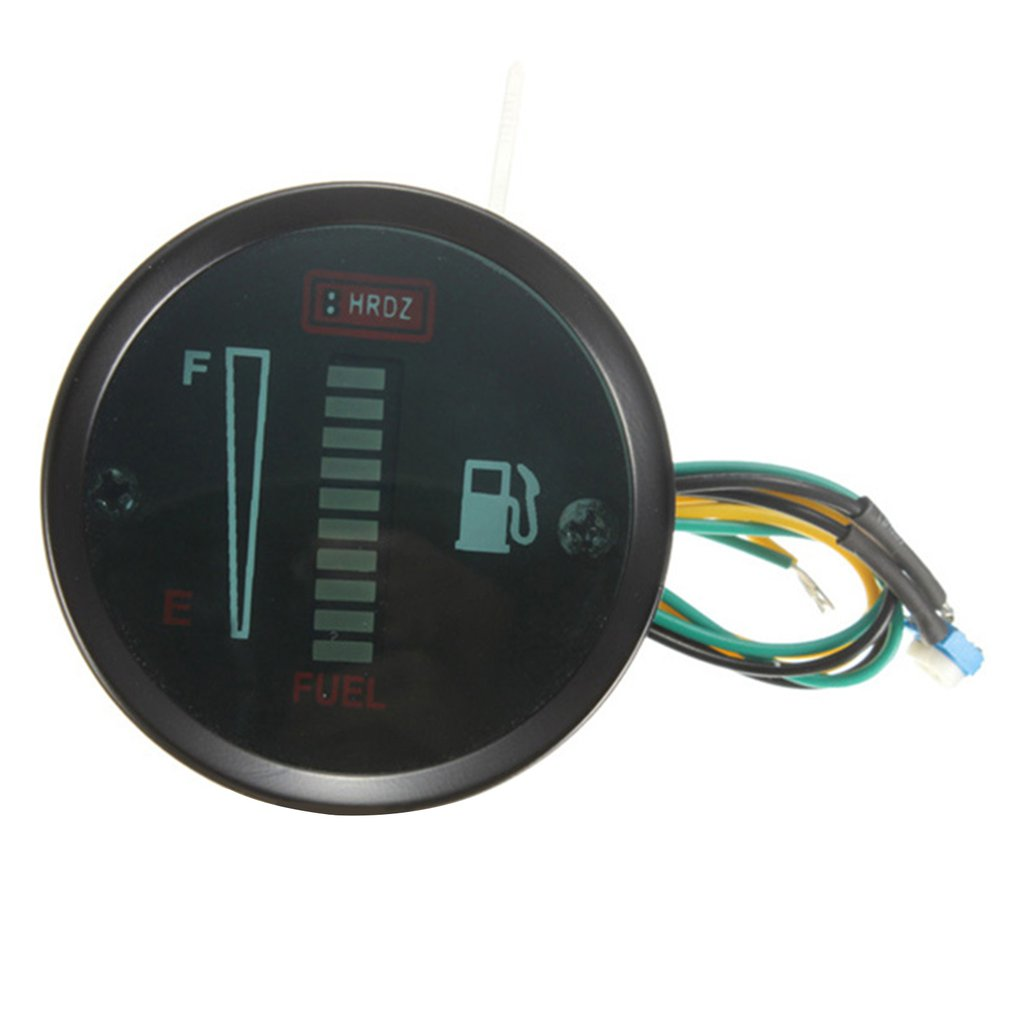 Car And Motorcycle Modified Instrument 52Mm2 Inch Fuel Gauge 12V Led Fuel Gauge Fuel Gauge 12V Led Fuel Gauge