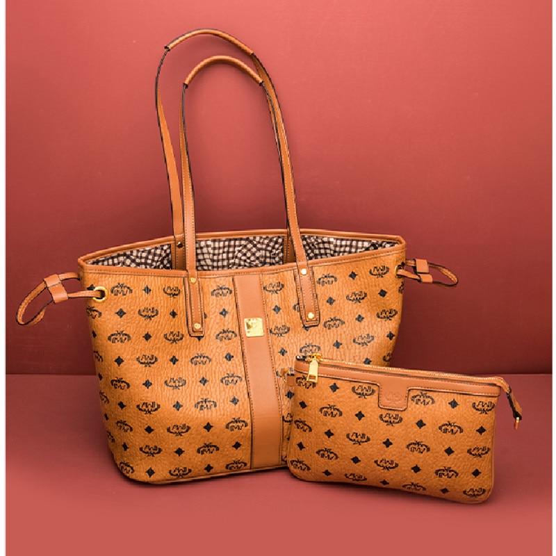 حقائب يد للنساء من الجلد الطبيعي موضة جديدة 2021 حقائب يد ذات سعة أكبر حقائب يد ومحافظ عالية الجودة للسيدات