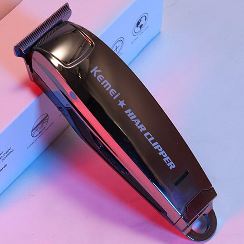 Kemel Edging Clipper Kamei Shaver Kmei Shaving Head Machine Barber Shop Kemey Professional Keimei Carve Kimei Trimmer for Fading enlarge