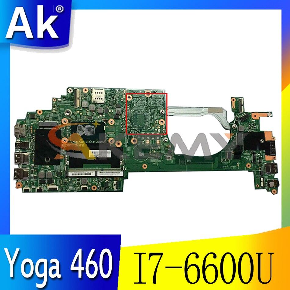 Akemy لينوفو ثينك باد P40 اليوغا 460 الكمبيوتر المحمول اللوحة LCL-1 MB 14283-2 I7 6600U الرسومات المتكاملة 100% اختبار OK