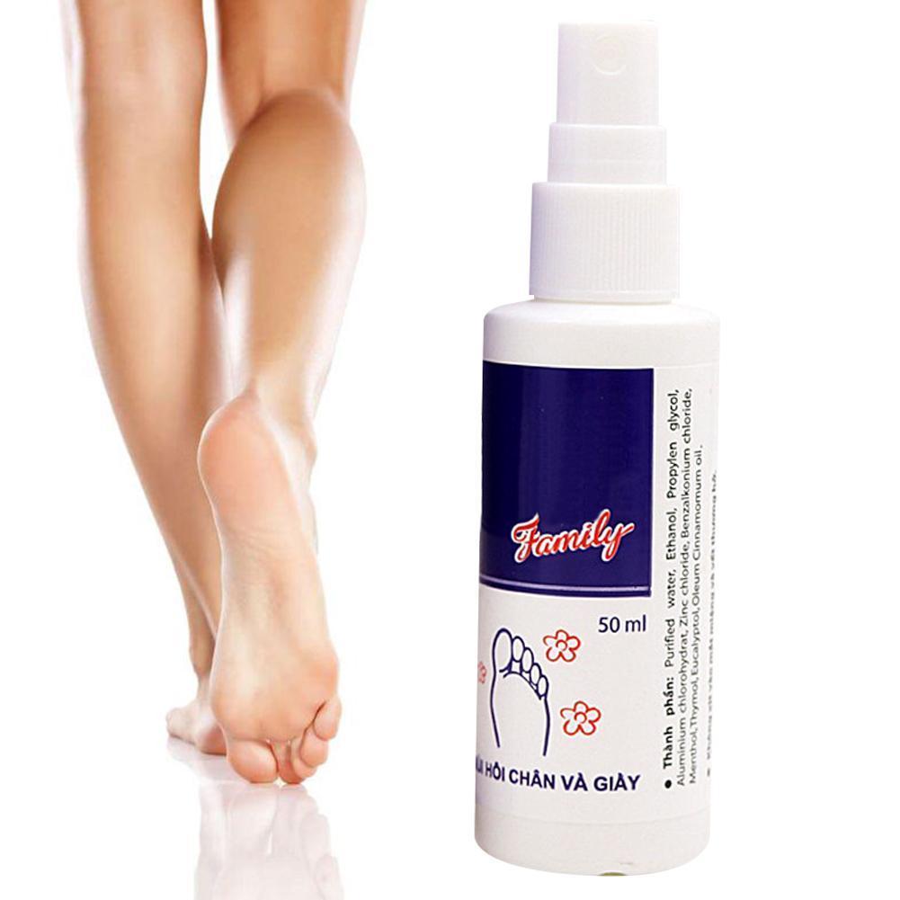 50ml Foot and Shoe Deodorant Odor Spray Deodorizer Shoes Bacterial Anti-fungal Anti Odor Deodorant E