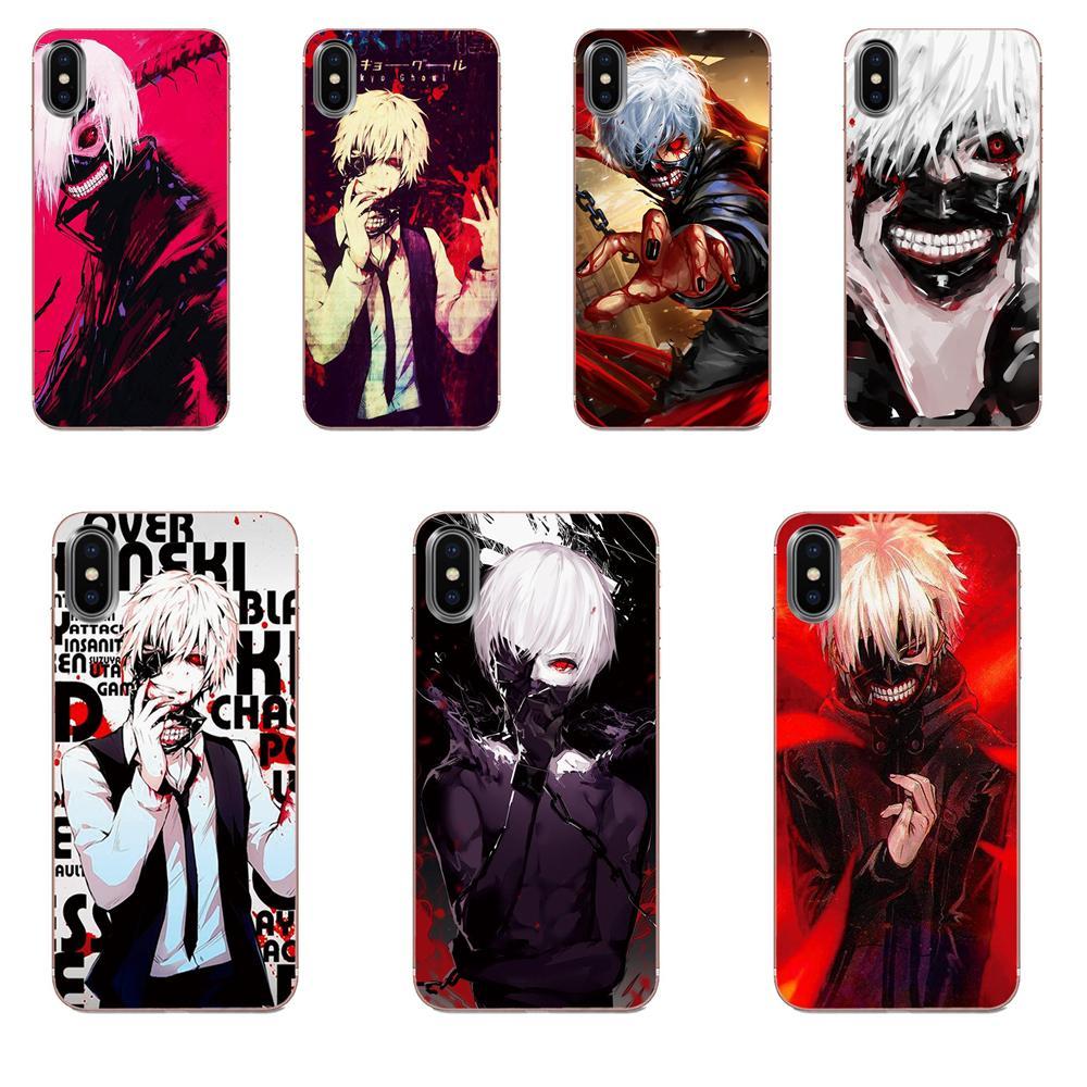 Tokio Ghoul Anime Kaneki Ken para Huawei Honor 5C 5X 6A 6X 7 7A 7X 8 8A 8S 8X 9 10 30 Lite Pro Y6 II Y7 Y9 primer 2019