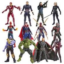 SHF капитан Марвел Америка Звездный господин доктор странные танос Железный человек Муравей Человек Черная Вдова Халк Тор фигурка игрушки