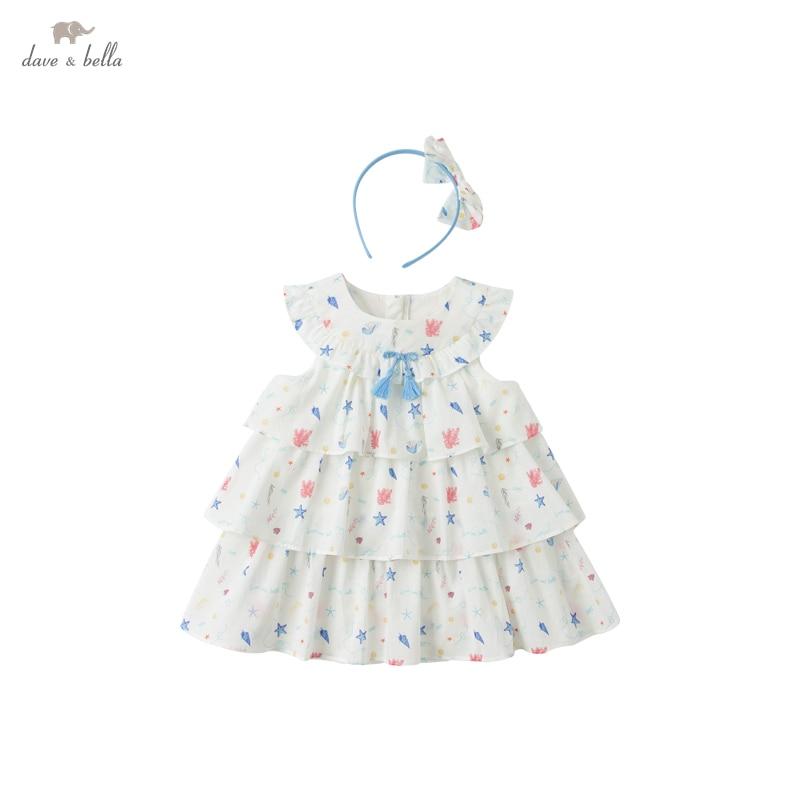 dbs16811 vestido de bebe colorido e estiloso conjunto de 2 pecas de roupas infantis