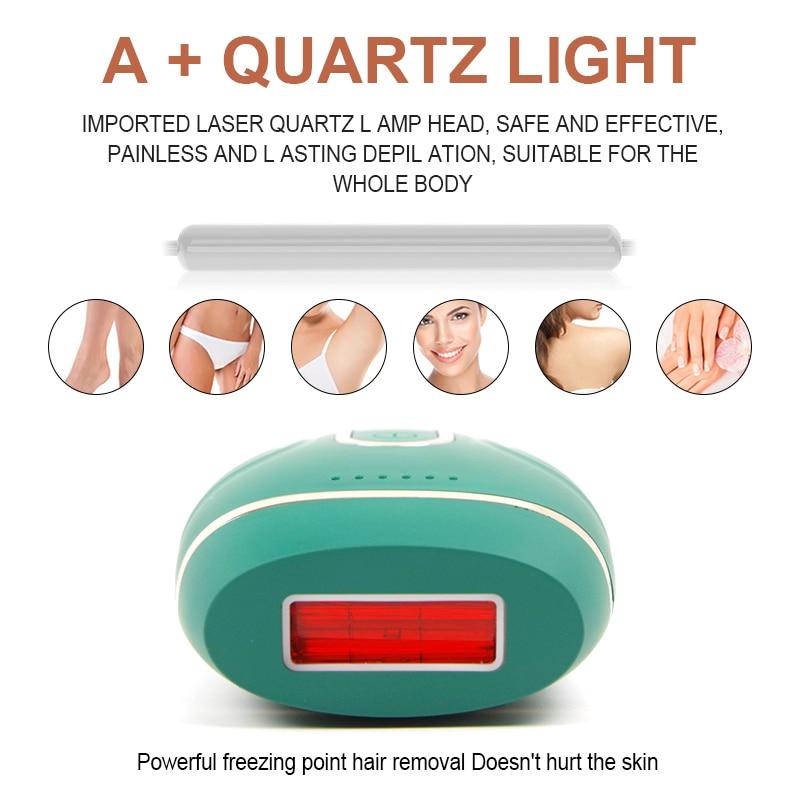 2021 Permanente 990000 Knippert Nieuwe Laser Epilator Ipl Photoepilator Laser Ontharing Pijnloos Elektrische Scheren Dropship enlarge