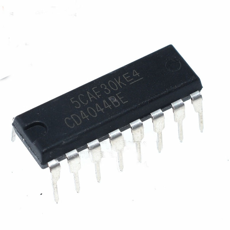 20pcs/lot new imported original CD4044BE DIP16 in-line three state output four channel and nonR/ latch