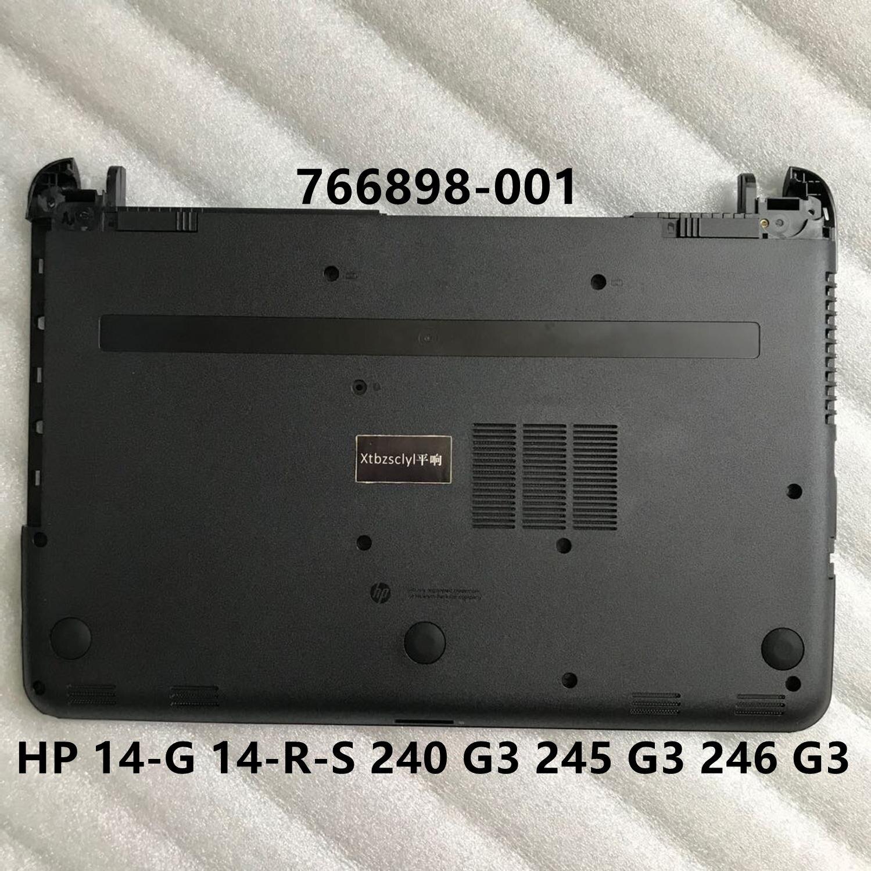 جديد ل HP 14-G 14-R-S 240 G3 245 G3 246 G3 أقل غطاء أسفل قذيفة غطاء للقدم غطاء لابتوب 766898-001