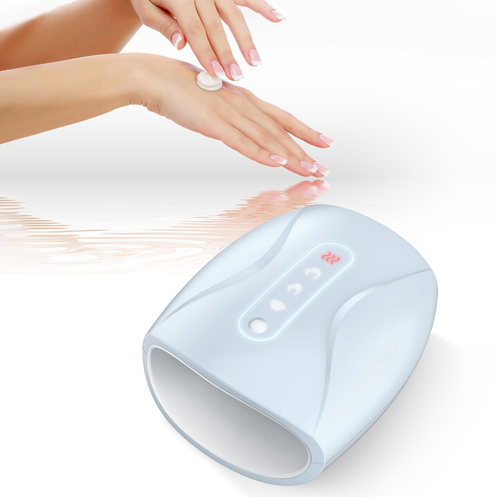 Hand Warmer Electric Massager Machine  Heat Physiotherapy Equipment Palm Hand Finger Massager Air Pressure Heat Compress enlarge
