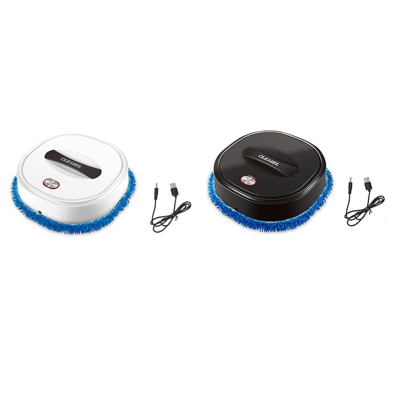 روبوت التنظيف المنزلي ، منخفض الضوضاء التلقائي الطابق التطهير روبوت الرطب والجاف كنس جهاز آلي لتنظيف الأتربة